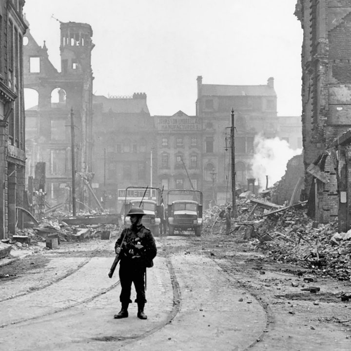 Featured image for The Belfast Blitz: Casualties of enemy action in the city
